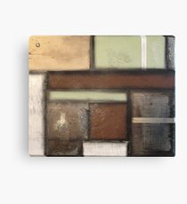 Earth Tones with Antique Imagery Canvas Print