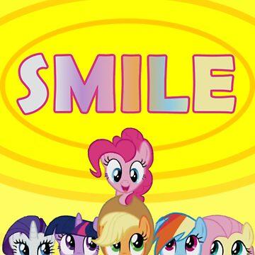 Smile! - Pinkie Pie by oliethefolie