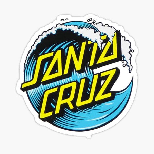 Santa Cruz Wave Sticker Sticker