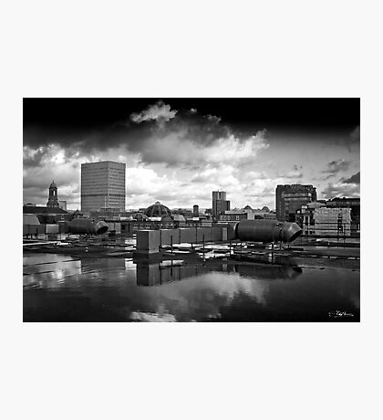 Moody Manchester Photographic Print