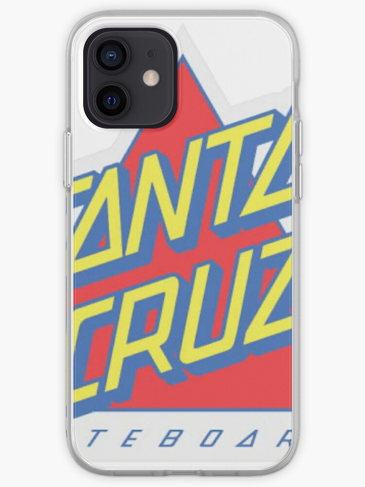 Triangle rouge Santa Cruz | Coque iPhone