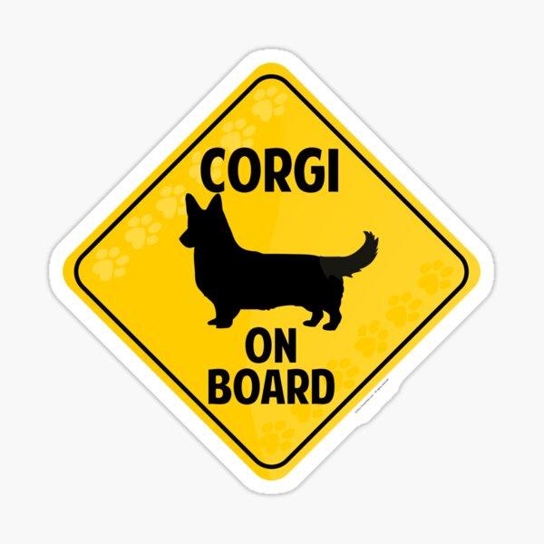 Corgi (Cardigan Welsh) On Board Sticker
