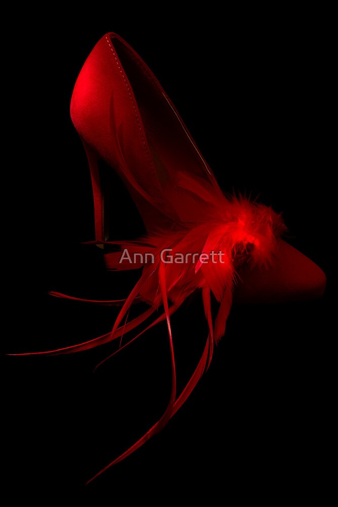 Red Shoe by Ann Garrett
