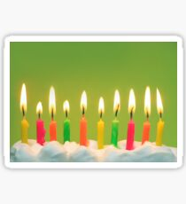 Celebrate 10! Sticker