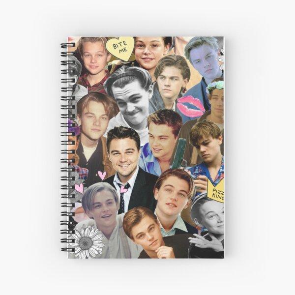 Leonardo DiCaprio Collage Spiral Notebook
