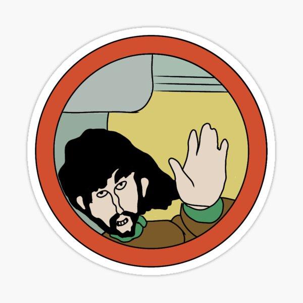George Harrison Yellow Submarine Sticker