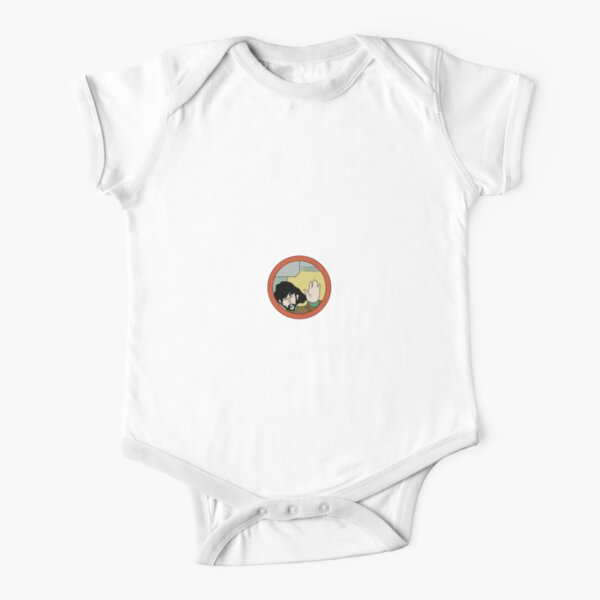 George Harrison Yellow Submarine Short Sleeve Baby One-Piece