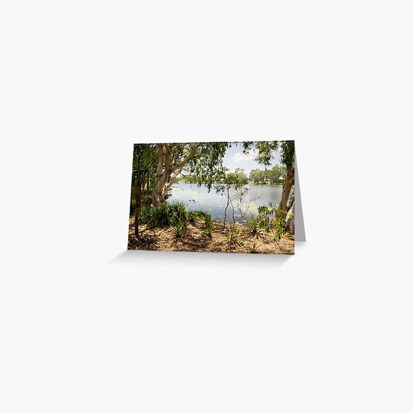 Ross River, Townsville, from Riverside Greeting Card