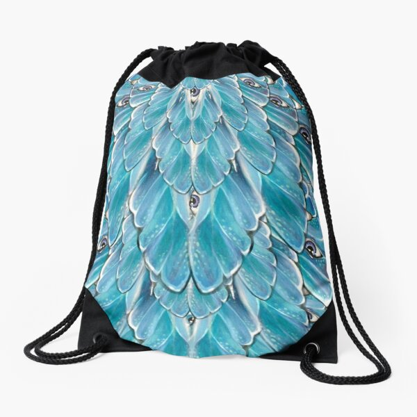 Dragonfly Dreaming - Textile Drawstring Bag
