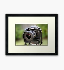 Canon EOS 7D Framed Print