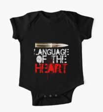 Language of The Heart One Piece - Short Sleeve