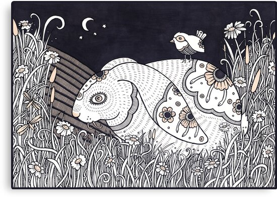 The Bunny and the Bird by Anita Inverarity