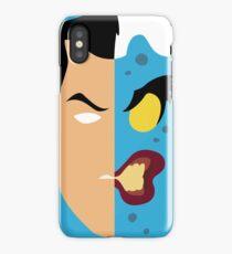 Harvey Dent Two Face Minimalistic Design iPhone Case/Skin