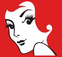 Miss Redhead [iPhone / iPad / iPod case / Tshirt / Print] | Women's T-Shirt
