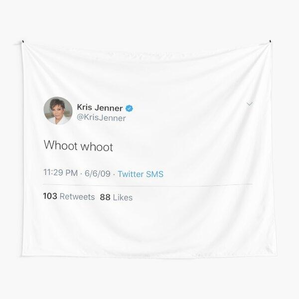 Kris Jenner tweet Tapestry