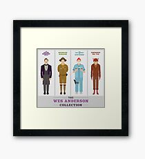 Wes Anderson Collection Framed Print