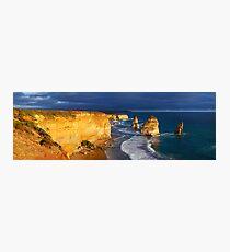 Dramatic Light over the Twelve Apostles, Victoria, Australia Photographic Print