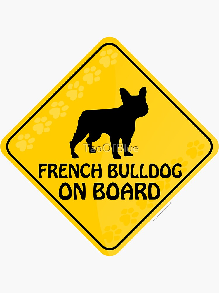 French Bulldog On Board by TaoOfBlue