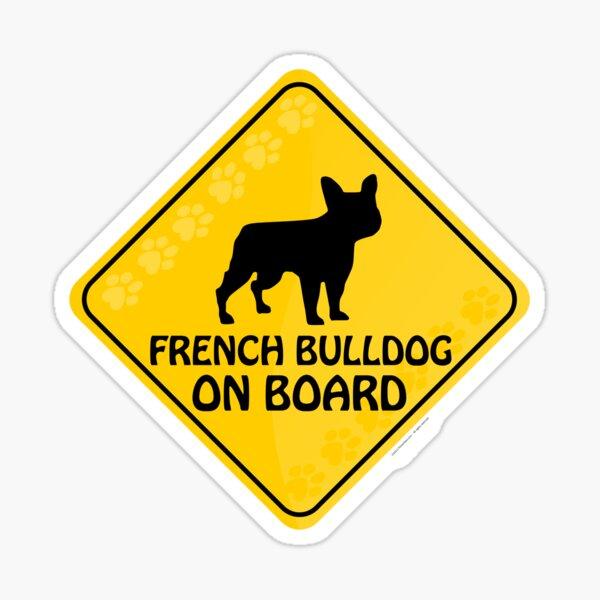 French Bulldog On Board Sticker