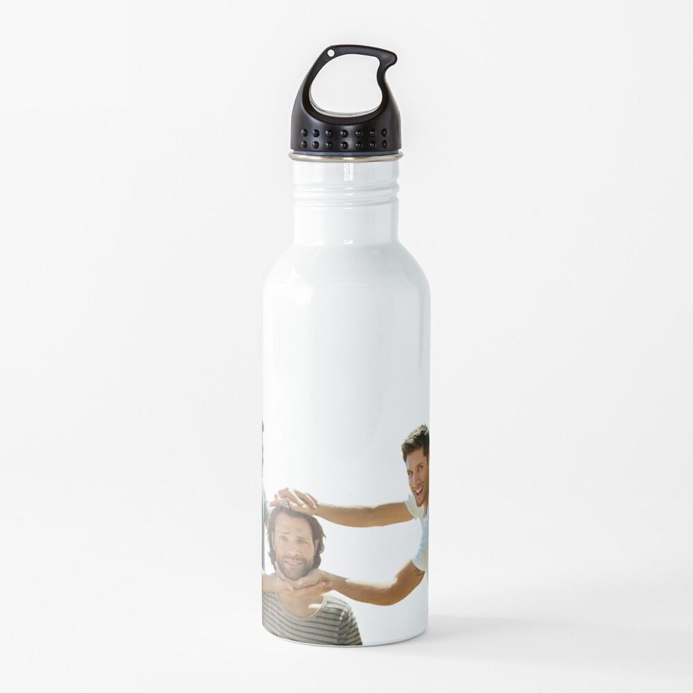 J2M #4-Jensen Ackles, Jared Padalecki, Misha Collins Water Bottle