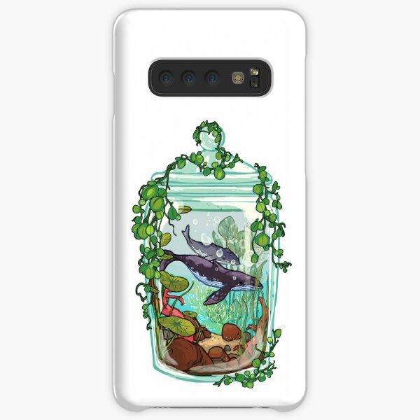 Whale Plant Terrarium Samsung Galaxy Snap Case