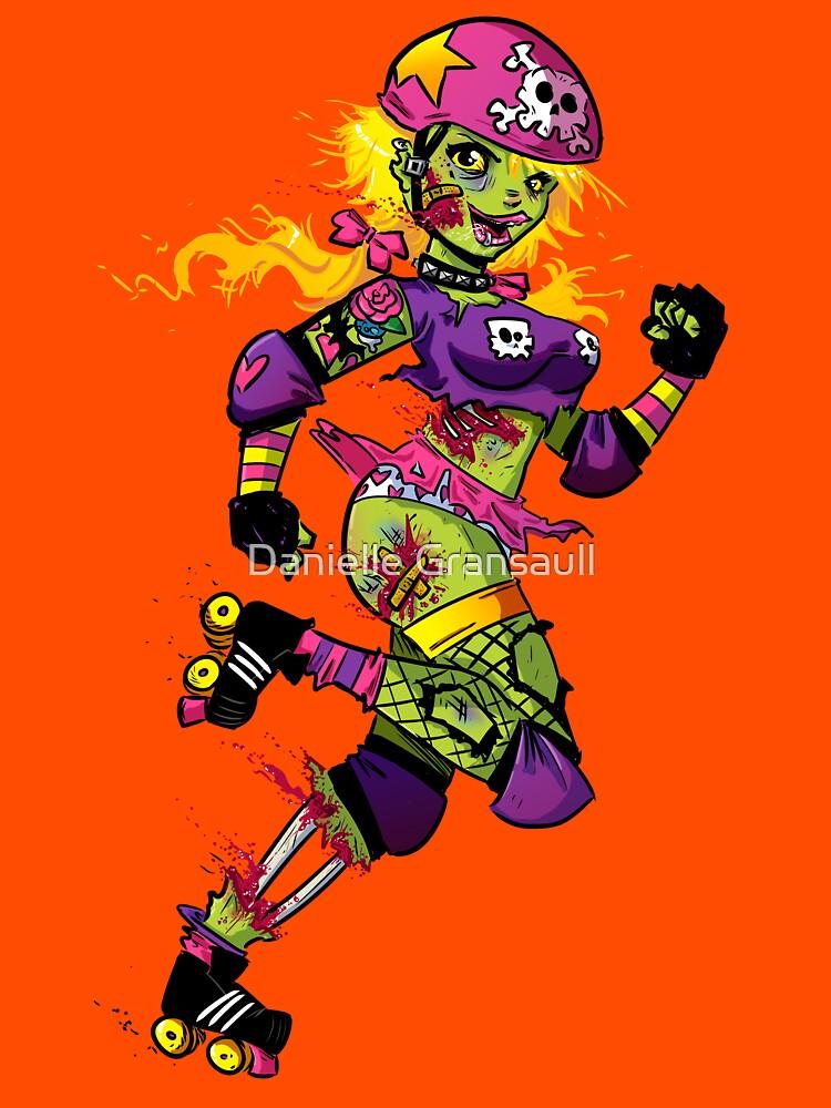 Zombie Derby Doll by dsoloud