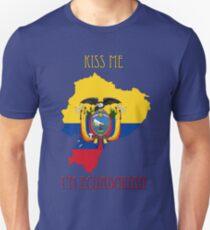 Kiss Me I'm Ecuadorian T-Shirt