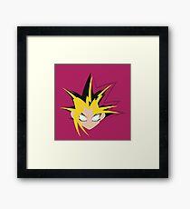 Yu-Gi-Oh! Minimalistic Design Framed Print