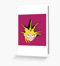 Yu-Gi-Oh! Minimalistic Design Greeting Card