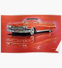 1959 Cadillac Eldorado Biarritz Poster