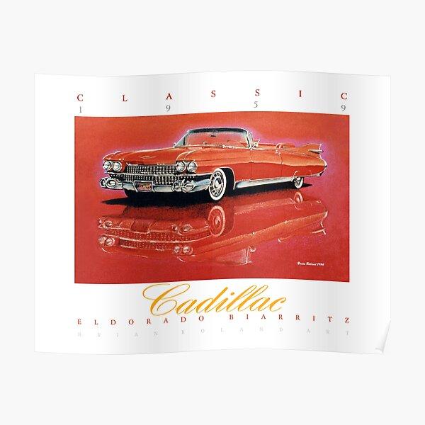 1959 Cadillac Eldorado Biarritz ver 2 Póster