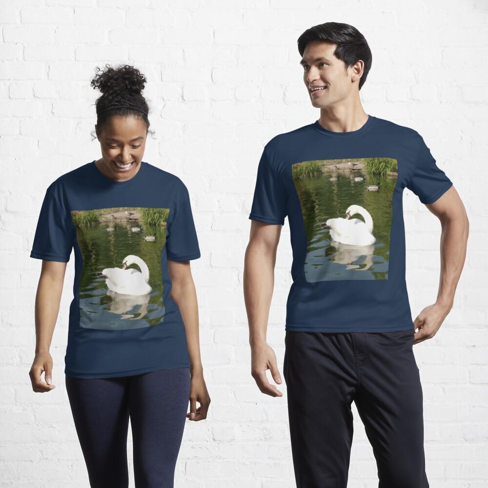 M.I. #65 |☼| Swan - Shot 23 (Pearson Park) Active T-Shirt