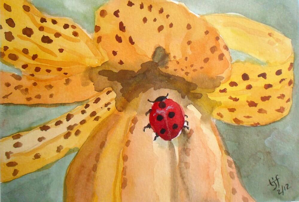 Tiger Lily Ladybug by TrixiJahn