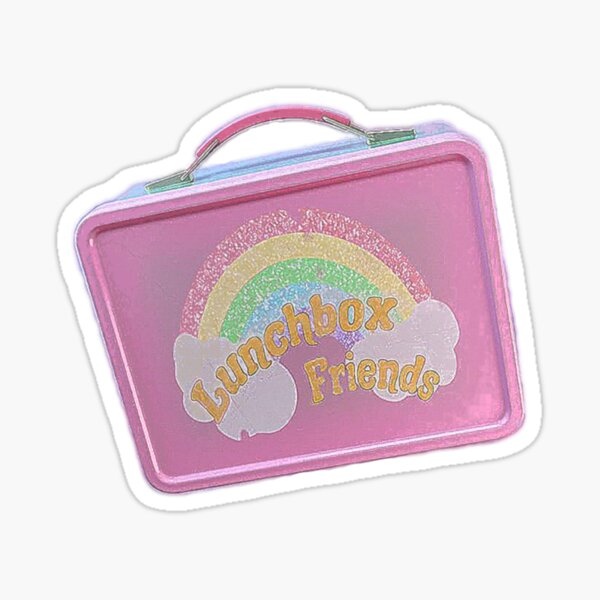Lunchbox Friends Sticker Sticker