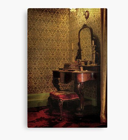 The Dressing Table ~ Monte Cristo, Junee NSW Canvas Print