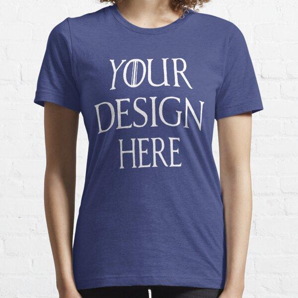Custom sweatshirt, personalized jumper, bespoke sweater, men's sweatshirt, women's sweatshirt Essential T-Shirt