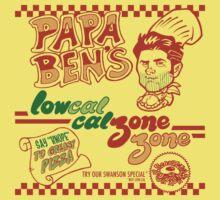 Papa Ben's Low-Cal Calzone Zone