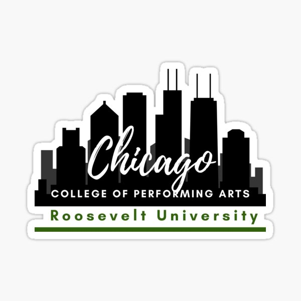Chicago College of Performing Arts at Roosevelt University Sticker