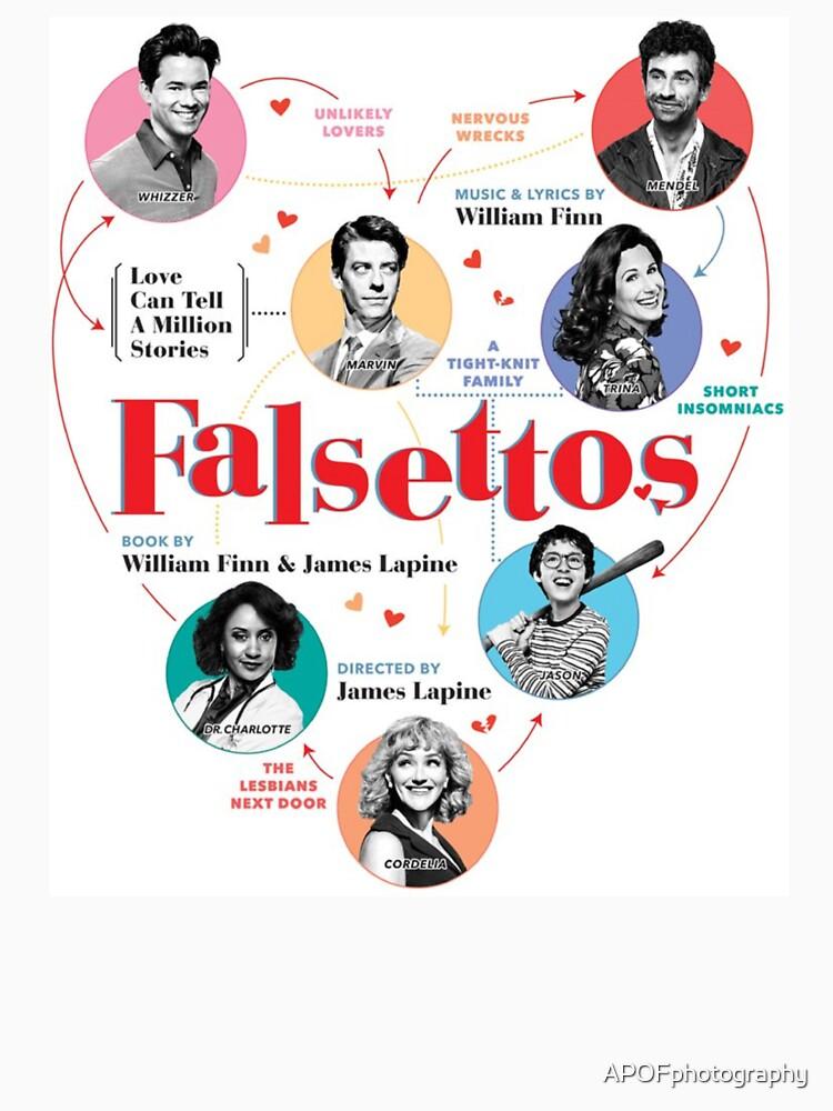 Falsettos 2016 Poster by APOFphotography
