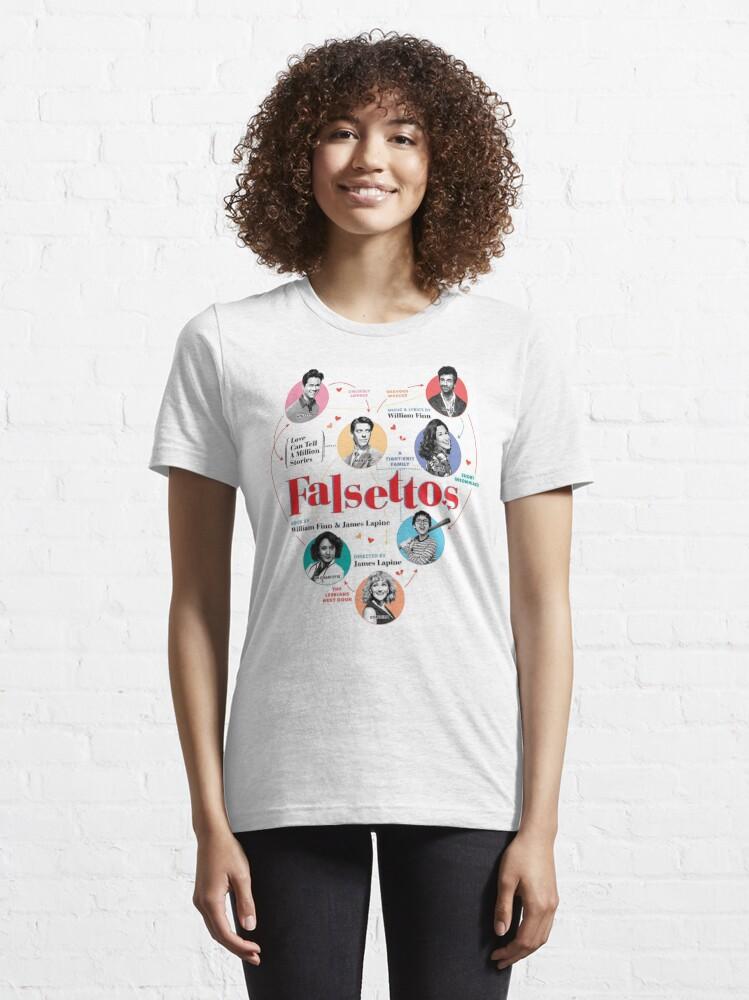 Alternate view of Falsettos 2016 Poster Essential T-Shirt