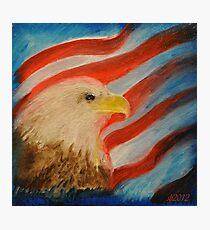 Eagle Glory Photographic Print