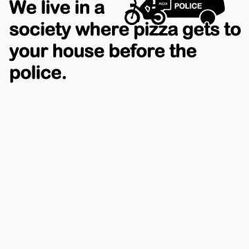 Pizza vs Police by Teevolution