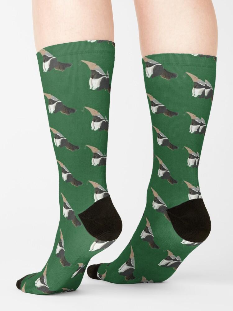Alternate view of Sitting Gaint anteater 2 Socks