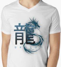 The Dragon, Chinese Zodiac Men's V-Neck T-Shirt