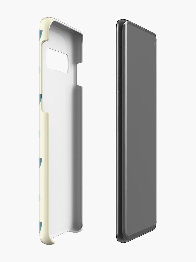 Alternate view of Earth, geometric print Case & Skin for Samsung Galaxy