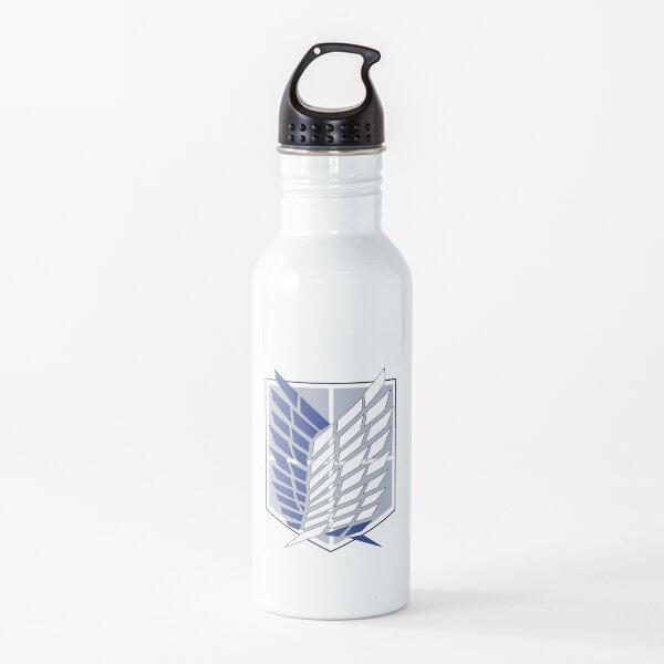 Einfacher Angriff auf das Titan Survey Corps-Logo Trinkflasche
