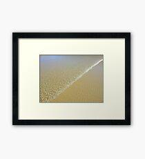 Wave Form Framed Print