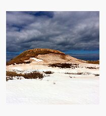 Cavendish Beach PEI Winter Photographic Print