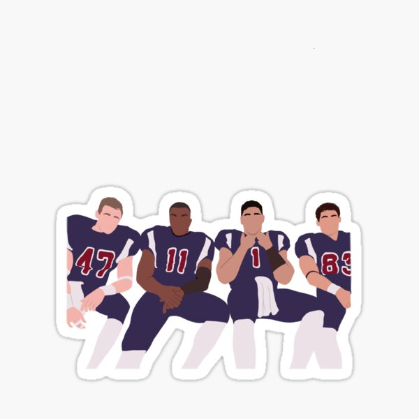 All American Football Squad Sticker