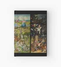 The Garden of Earthly Delights by Hieronymus Bosch (1480-1505) Hardcover Journal